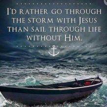 storm with Jesus