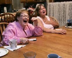 women playing bunco