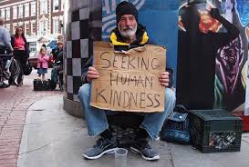 seeking human kindness