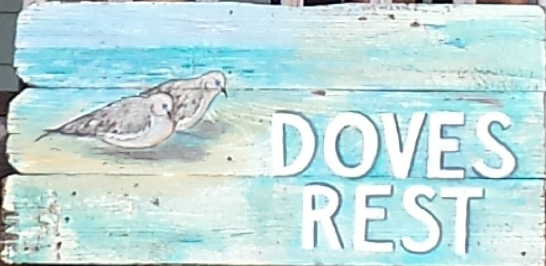 doves rest sign