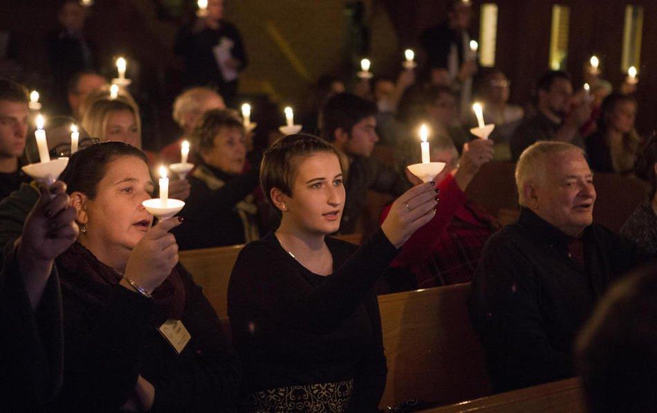 Christmas Eve candlelighting